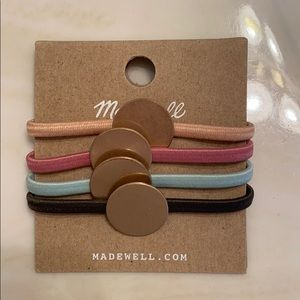 Madewell hair ties